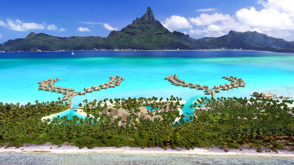 Intercontinental Bora Bora Resort and Thalasso Spa, Polynésie