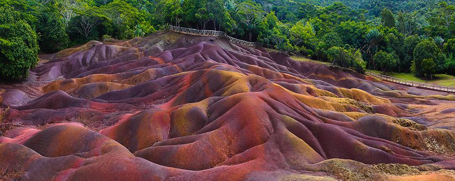 Les terres aux sept couleurs de Chamarel, Île Maurice