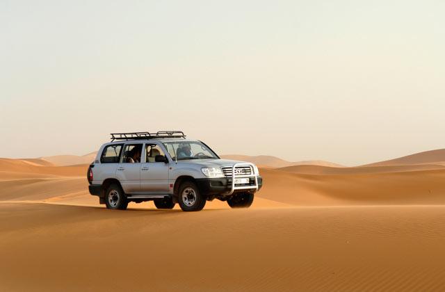 4X4 dans le Grand Sud Marocain